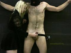 mistress-handjobs-her-slave-for-his-daily-milking-experience