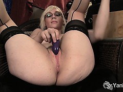 stockinged-ruby-vibrating-her-pink-pussy