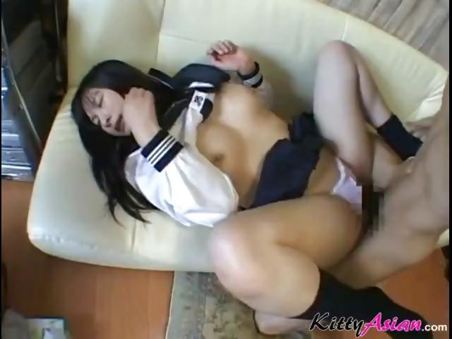 Japanese Teen Girl Creampie