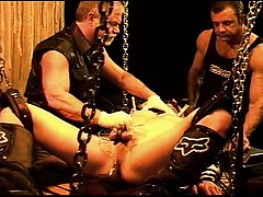 Electrified Sounding Threesome With Hot Young Muscle Stud.