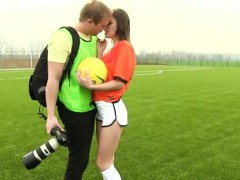 Dutch Football Player Pulverized By Photographer