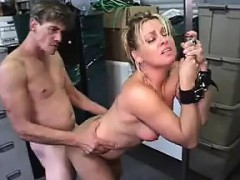 Bound Up Slave Gets Fucked