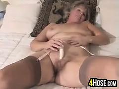 sweet-granny-masturbating