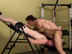 Big Muscular Gay Top Pounding Bottom