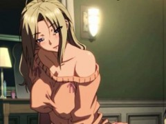 Hentai - a young boy makes love with a mature woman