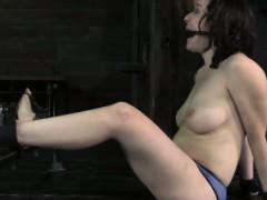 Nasty Submissive Punished With Bastinado