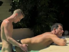 Gay Clip Of With The Guys Spunk Running In Rivulets Down His