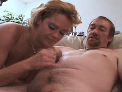 Blondie Wife Gets Fucked While Hubby Watches
