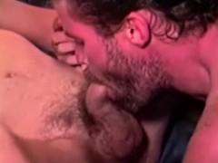 dirty redneck gets creamy facial moustache