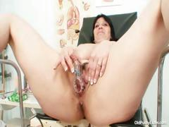 Big Tits Plump Milf Zora Hairy Pussy Inspection
