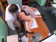 Fakehospital Horny Saleswoman Strikes A Dea