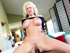 Beautiful Blonde Alena Croft Gets Her Pussy Fucked By Lex
