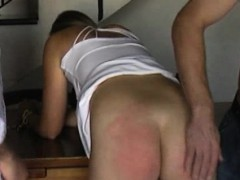 Photoshoot And Double Spanking With Hot Milf