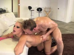 Everhard Gets Wet And Wild...with Anikka Albrite