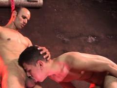 Hapless Boy Slave Gets Deepthroated In A Hogtie