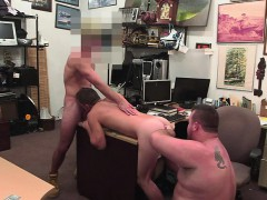 Desperate Guy Gets Fucked For His Gf
