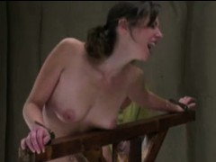 Hubby Spanks His Tied Wife