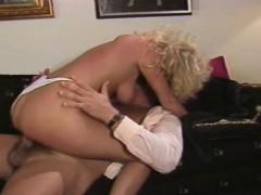 Petite 80s Pornstar Blonde Teen Gets A Big Cock Fucking
