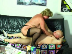 german-grandma-seduce-grandson-to-first-fuck-in-lingerie