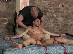 tied-and-ticklish-izan-gets-a-lubed-handjob-from-sebastian