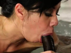 Diabolically Hot Retro Blowjob