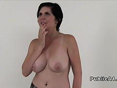 Natural Busty Teen Banged In Photo Studio
