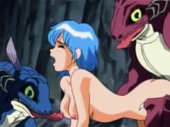 Hentai Teen Fucked By Two Monsters Outdoor