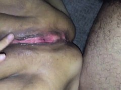 He Ejaculates All Over Her Bbw Vagina.
