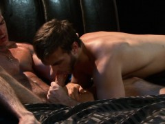Muscle Hunks Assfucking After Blowjob