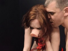 Bdsm Hardcore Action With Ropes And Fetching Sex