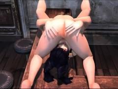 Hitomi Lesbian Sex – Incredible 3D anime xxx world