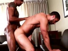 Ebony Muscle Pounding Black Ass
