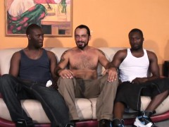 bearded-muscular-white-gay-stud-gets-nailed-by-black-thugs