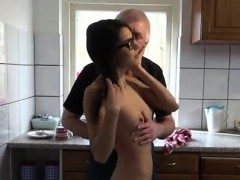 Old Mom Gets Fucked By Friend And Old Lesbian Piss First Tim
