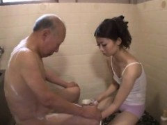 With Japanese dad sex easier
