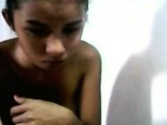Skinny Filipina Webcam Tease Freefetishtvcom