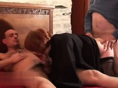Mature Anal 3some
