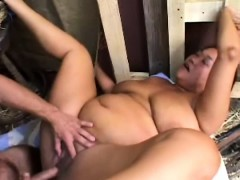 chunky-mature-lady-has-a-hung-cowboy-hammering-her-holes-in-the-barn