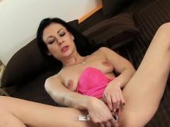 Slutty Czech Teenie Spreads Her Narrow Cunt To The Strange