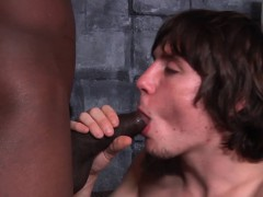 White Guy Gets Bbc In Ass