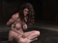 busty-pierced-roped-female-slave-gets-caned