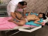 Pigtailed Asian teen with a sensational ass enjoys a relaxi