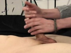 Smallest Boy Gay Sex Videos How Much Wanking Can He Take?