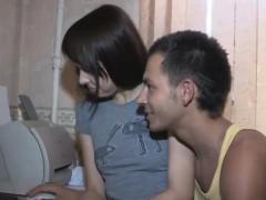 Teenage Russian Couple Gets A Bull