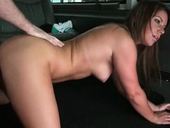 Aroused Teeny Pussy Nailed Hard In The Bus