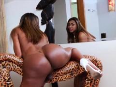 Chocolate Skin Ts Daphynne Duarh Wanking Her Massive Prick