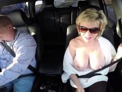 Adulterous British Milf Gill Ellis Displays Her Massive Tits