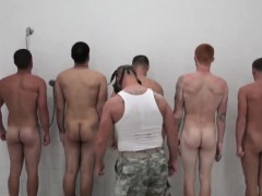 Handsome Army Men Cock Movies Gay The Hazing, The Showering