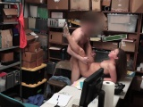 Brooke Bliss takes a LP Officers cock in her mouth