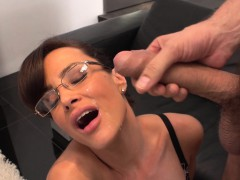 Irresistible Lisa Ann hardcore fuck with her horny boss